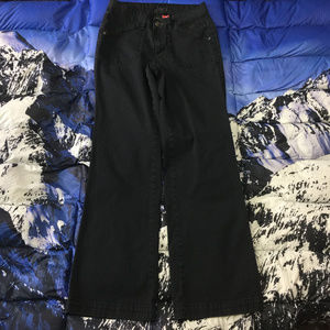 Jag Black Bootcut Denim Stretch Jeans Size 8